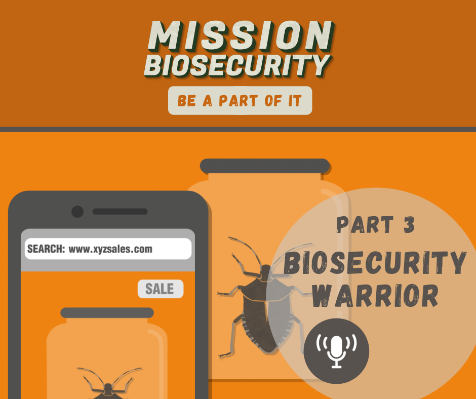 Biosecurity Warrior 3 Podcast